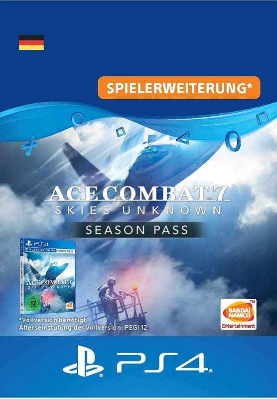 Ace Combat 7: Skies Unknown [Season Pass] [PS4 Code Deutschland]