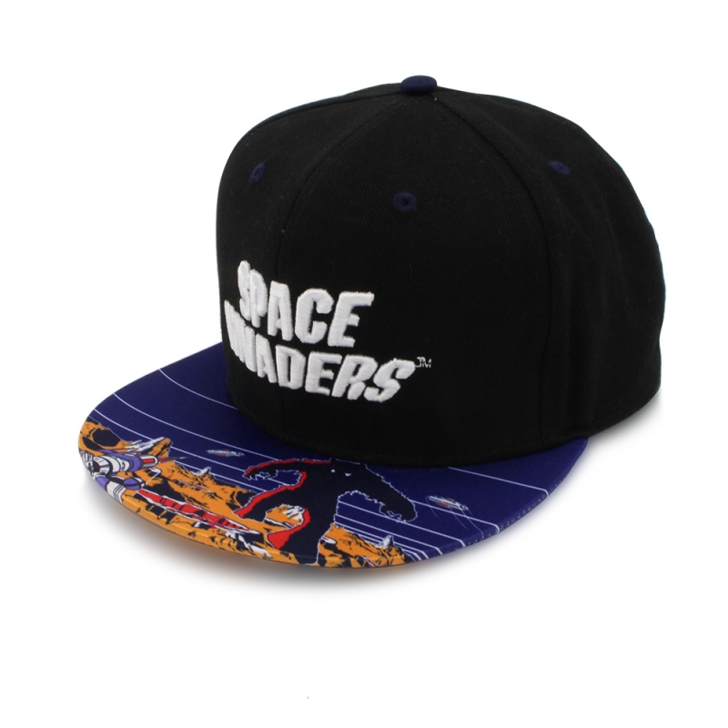 Space Invaders Monster Snapback Cap