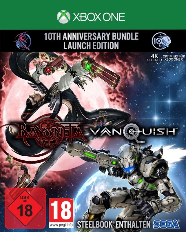 Bayonetta & Vanquish - 10th Anniversary Bundle [Limited Edition]