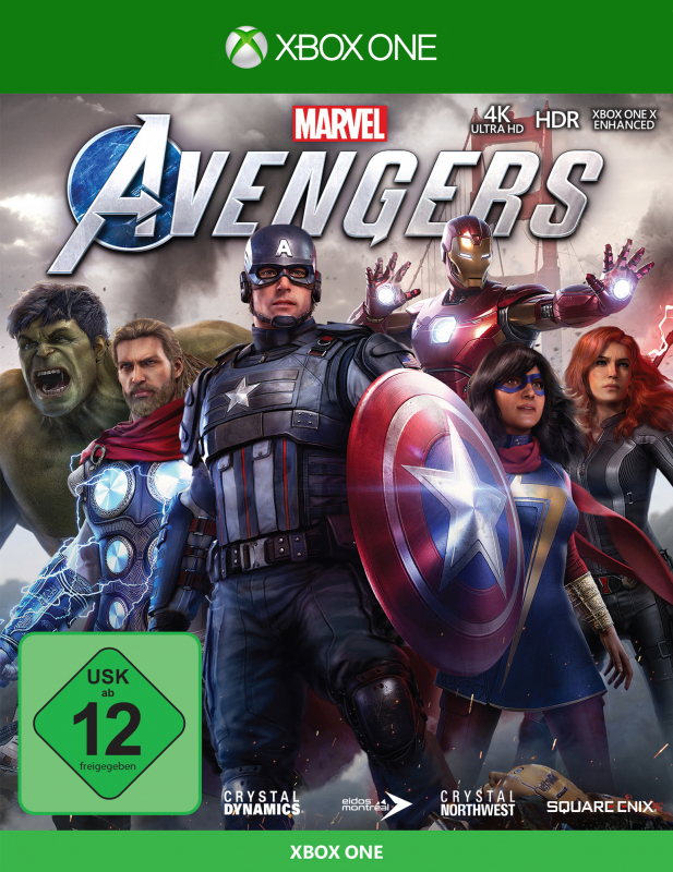 Marvels Avengers {XBox ONE - kostenloses Upgrade auf XBox Series X}