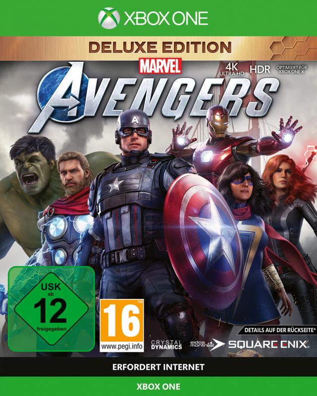 Marvels Avengers [Deluxe Edition] {XBox ONE - kostenloses Upgrade auf XBox Series X}