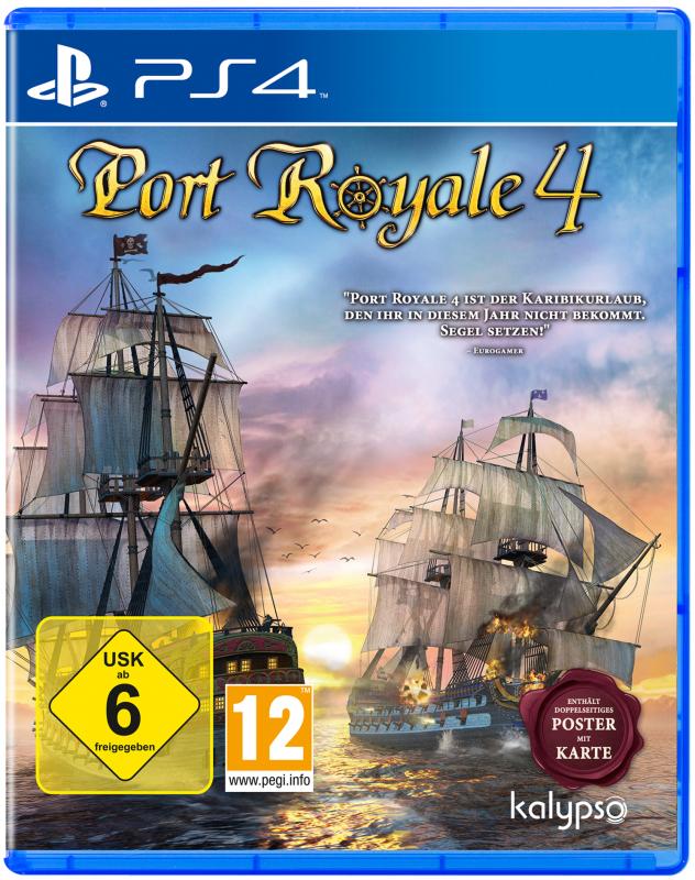 Port Royale 4 {PlayStation 4}