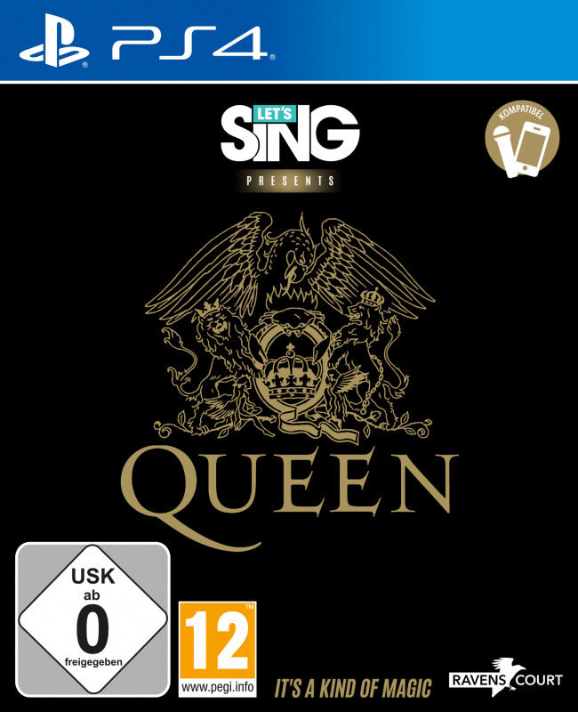 Let's Sing Queen {PlayStation 4}