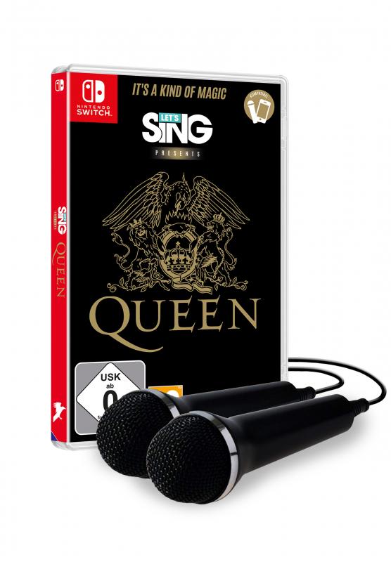 Let's Sing Queen [+ 2 Mics] {Nintendo Switch}