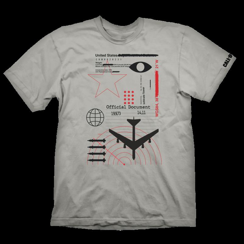 Call of Duty: Cold War Radar T-Shirt