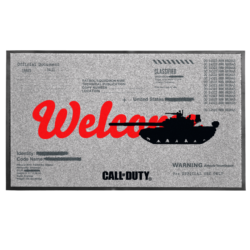 Call of Duty: Cold War Welcome Fußmatte