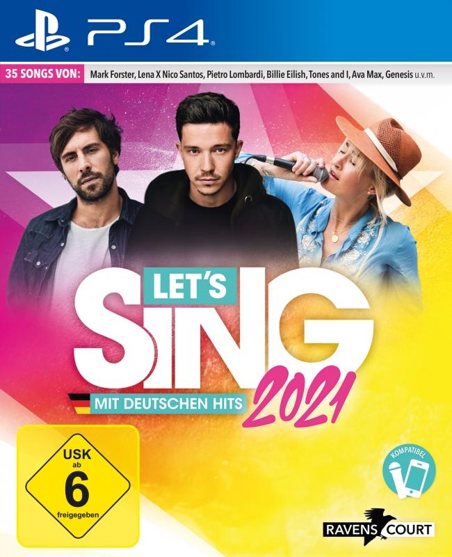 Lets Sing 2021 mit deutschen Hits {PlayStation 4}