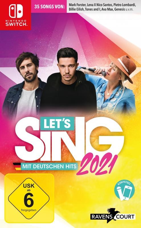 Lets Sing 2021 mit deutschen Hits