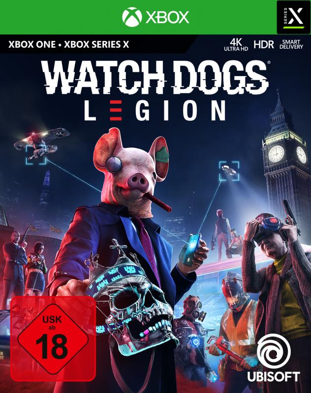 Watch Dogs Legion (inkl. kostenlosem Upgrade auf XBox Series X) {XBox One}