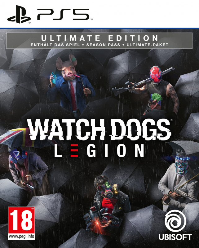 Watch Dogs Legion [Ultimate Edition] [AT] {PlayStation 5}