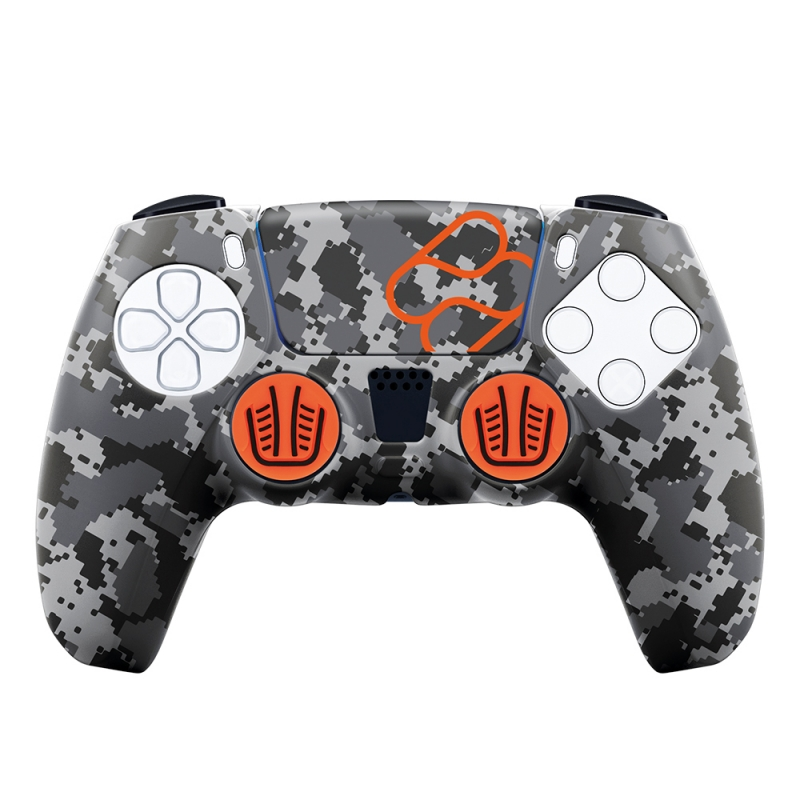 Silicone Skin + Grips + Touchpad Sticker Camouflage {PlayStation 5}