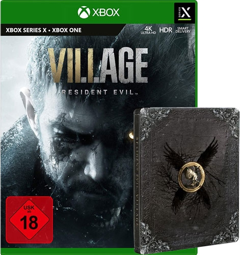 Resident Evil Village (UNCUT) [Steelbook Edition] {XBox ONE / XBox Series X}