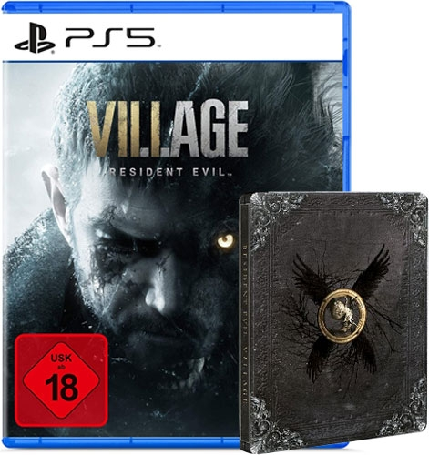 Resident Evil Village (UNCUT) [Steelbook Edition] {PlayStation 5}