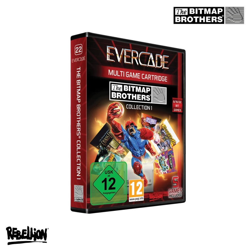 Blaze Evercade The Bitmap Brothers Cartridge 1