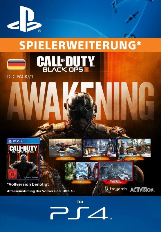 Call of Duty: Black Ops III - Awakening [Erweiterung] [PS4 Code Deutschland]