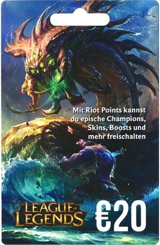 League of Legends Guthaben (20 Euro) [Code]