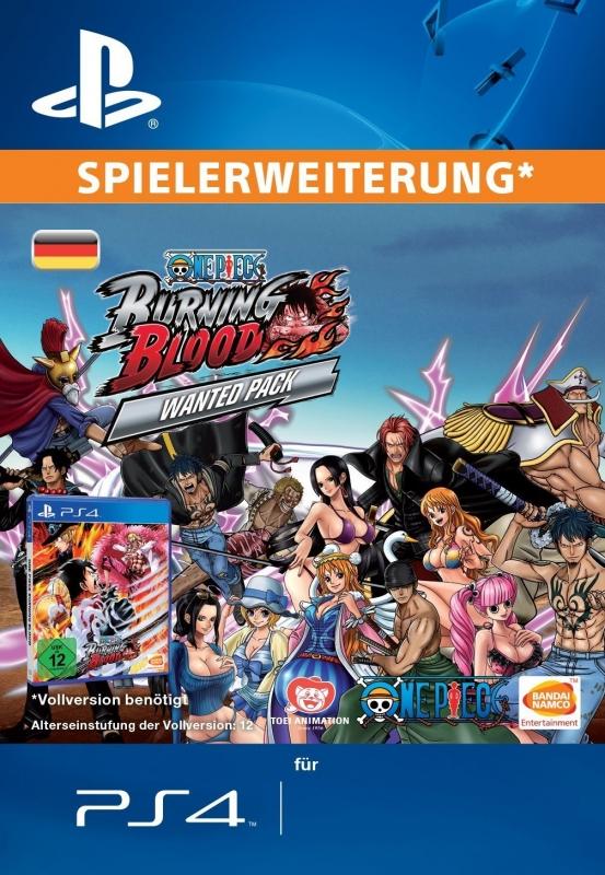 One Piece Burning Blood (WANTED PACK) [Erweiterung] [PS4 Code Deutschland]