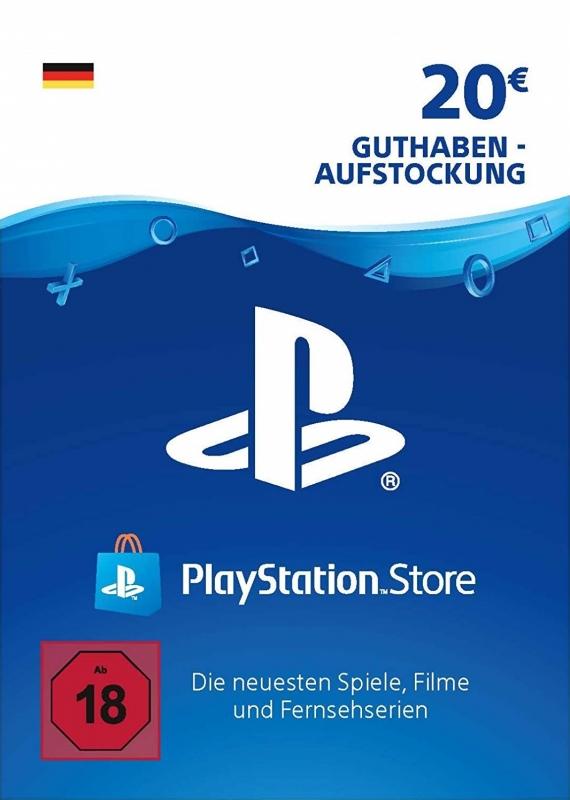 PlayStation Store Guthaben (20 Euro) [Deutschland] [Code]