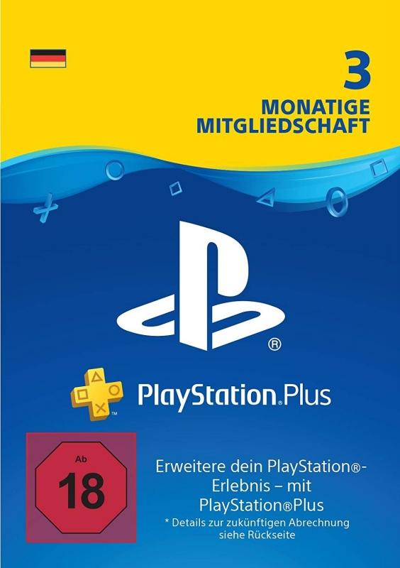 PlayStation Plus Mitgliedschaft (3 Monate) [Deutschland] [Code]