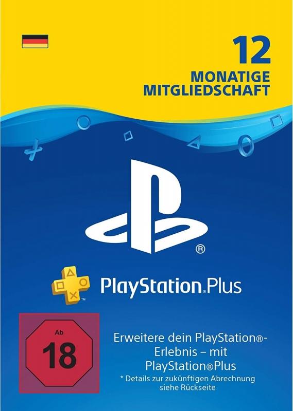 PlayStation Plus Mitgliedschaft (12 Monate) [Deutschland] [Code]
