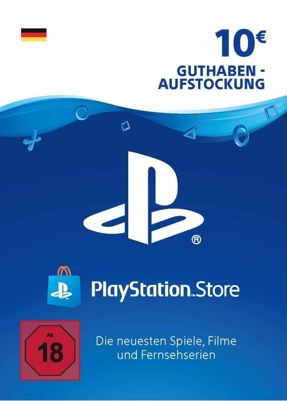 PlayStation Store Guthaben (10 Euro) [Deutschland] [Code]