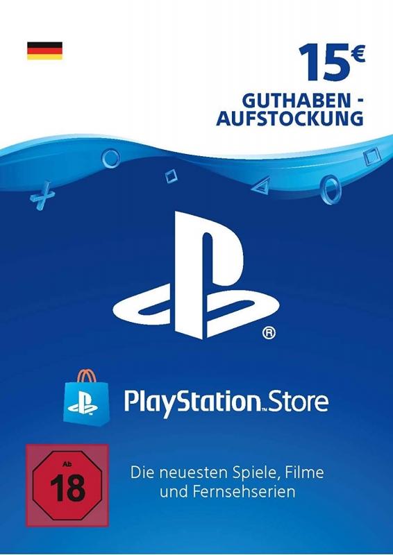 PlayStation Store Guthaben (15 Euro) [Deutschland] [Code]