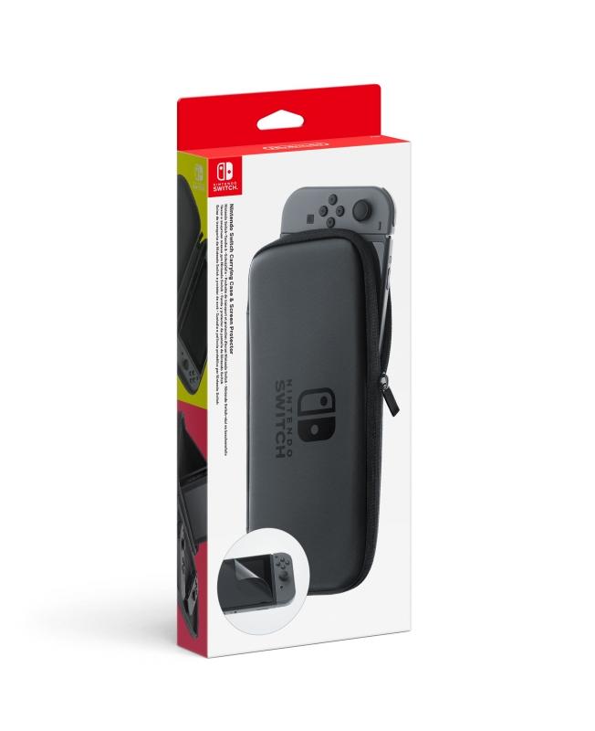 Nintendo Switch-Tasche & -Schutzfolie