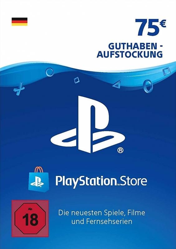 PlayStation Store Guthaben (75 Euro) [Deutschland] [Code]