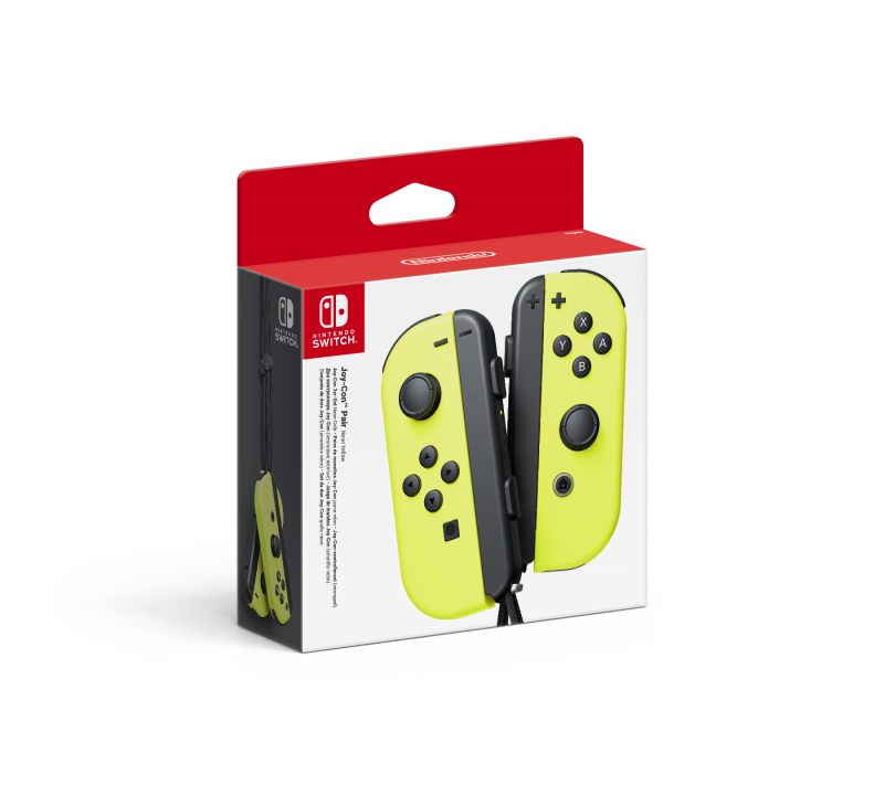 Nintendo Switch Joy-Con [2er-Set / Neon-Gelb]