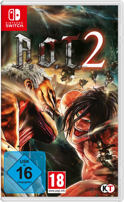 AoT 2 - (based on Attack on Titan)
