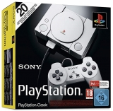 Playstation 1 Classic Mini Konsole [inkl. 20 vorinstallierten Spiele + 2. Controller]