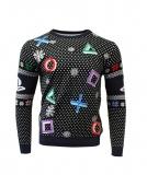 PlayStation Symbols Weihnachts - Pullover [schwarz]
