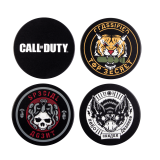 Call of Duty: Cold War Badges Untersetzer / Coaster Set