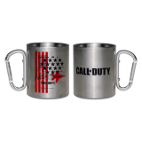 Call of Duty: Cold War Stars & Stripes Aluminium Tasse / Camping Mug