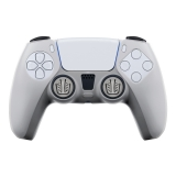 Silicone Skin + Grips + Touchpad Sticker Transparent {PlayStation 5}