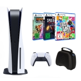 Sony PlayStation 5 Family Pack 3 (inkl. Ratchet & Clank: Rift Apart + Just Dance 2021 + Marvels Spider-Man: Miles Morales + Controller Case)