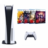 Sony PlayStation 5 Ab 18 Pack (inkl. Outriders + Metro Exodus [Complete Edition] + Yakuza 7: Like a Dragon + Watch Dogs Legion)