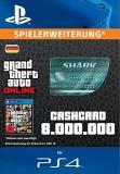 GTA 5 CashCard Megalodon [Deutschland] [PS4 Code]