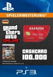 GTA 5 CashCard Roter Hai [Deutschland] [PS3 Code]