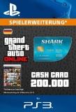 GTA 5 CashCard Tigerhai [Deutschland] [PS3 Code]