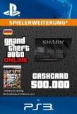 GTA 5 CashCard Bullenhai [Deutschland] [PS3 Code]