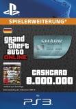 GTA 5 CashCard Megalodon [Deutschland] [PS3 Code]