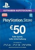 PlayStation Store Guthaben (50 Euro) [Österreich] [Code]