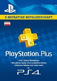 PlayStation Plus Mitgliedschaft (3 Monate) [Österreich] [Code]