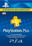 PlayStation Plus Mitgliedschaft (12 Monate) [Österreich] [Code]