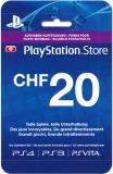 PlayStation Store Guthaben (20 CHF) [Schweiz] [Code]