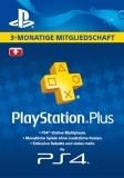 PlayStation Plus Mitgliedschaft (3 Monate) [Schweiz] [Code]