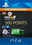 FIFA 18 Ultimate Team (500 Points) [Deutschland] [PS4 Code]