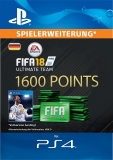 FIFA 18 Ultimate Team (1600 Points) [Deutschland] [PS4 Code]