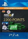 FIFA 18 Ultimate Team (2200 Points) [Deutschland] [PS4 Code]